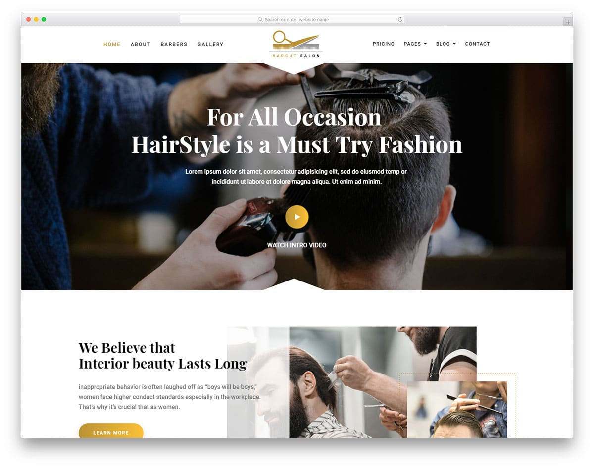 barcut-free-hair-salon-website-templates