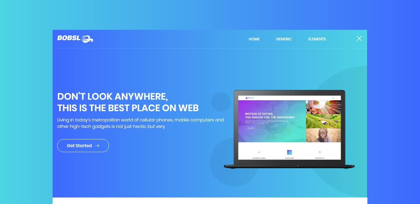 bobsled-free-one-page-website-template