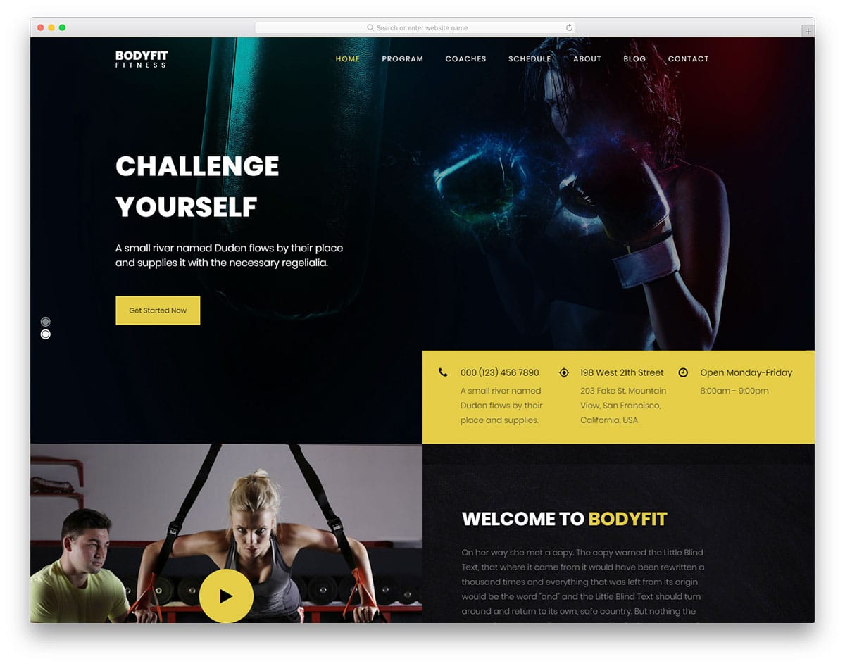 bodyfit-free-yoga-website-templates