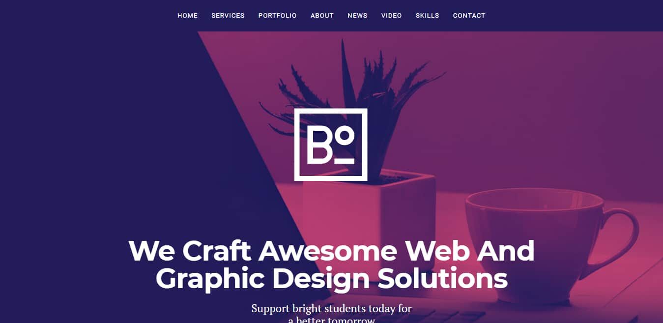 boxus-free-one-page-website-template