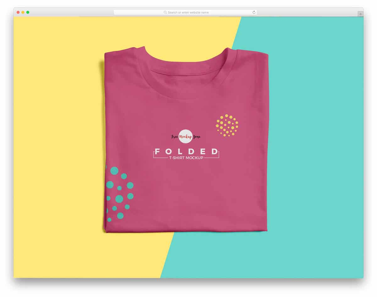 791898cf694ac 43 Free T-Shirt Mockups In Easy To Use PSD Format 2019 - uiCookies