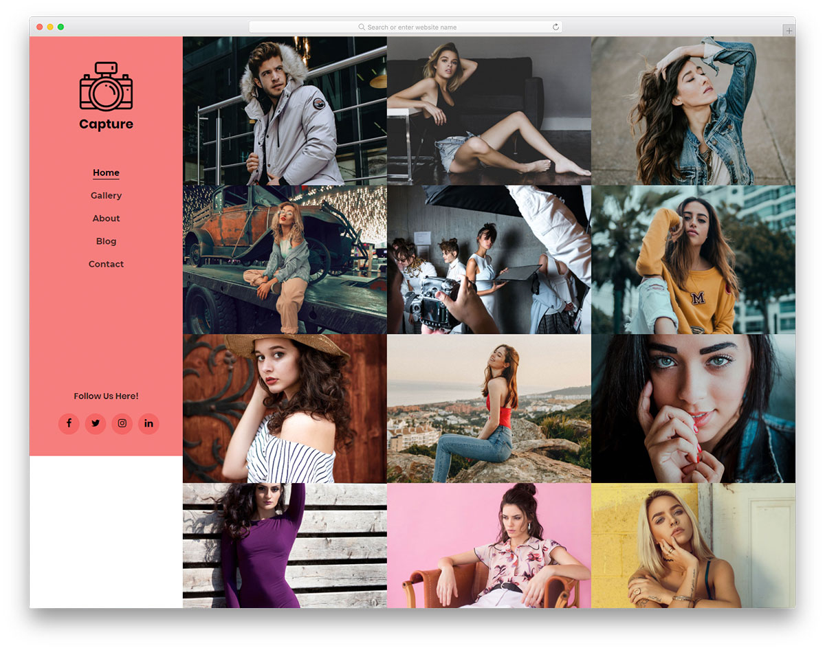 capture-free-photo-gallery-templates