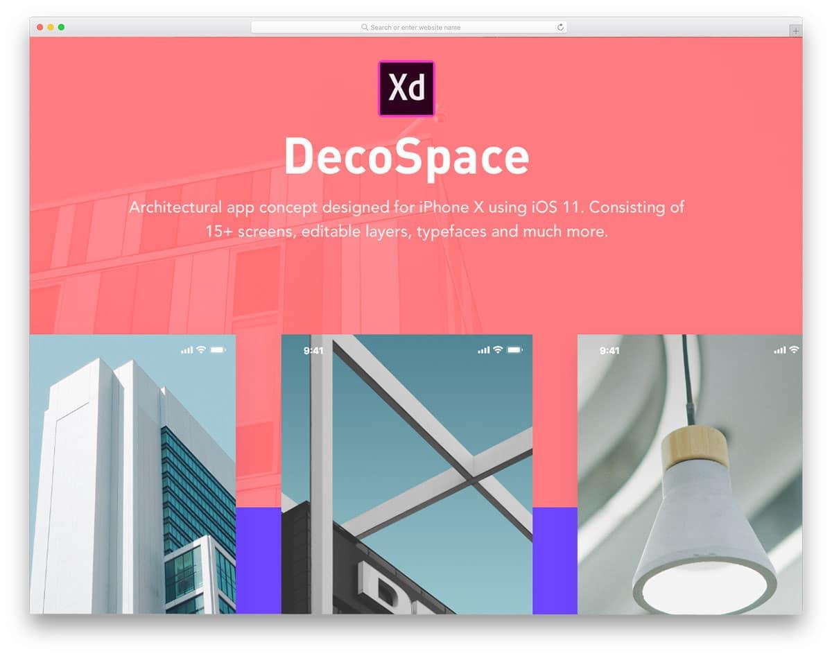 decospace-free-ui-kits