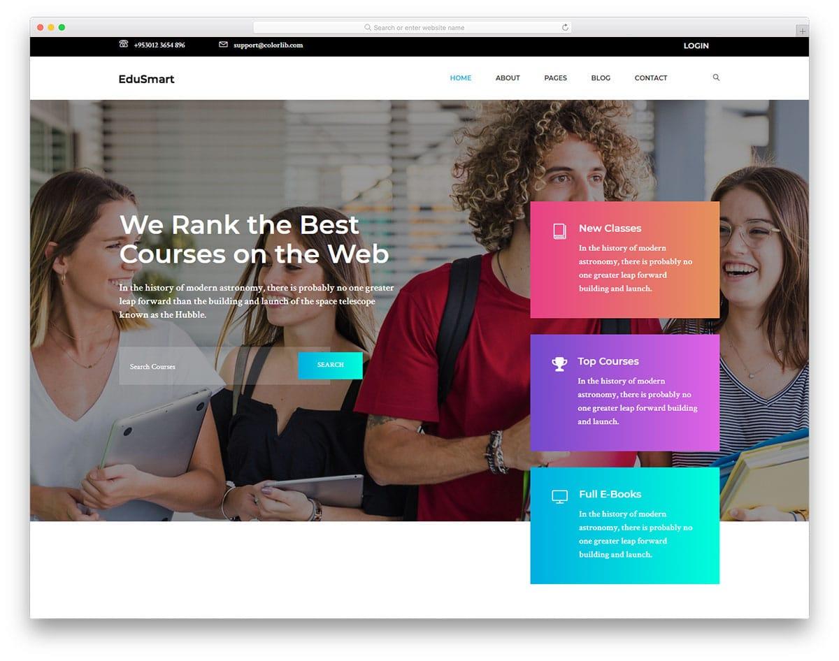 edusmart-free-bootstrap-education-templates