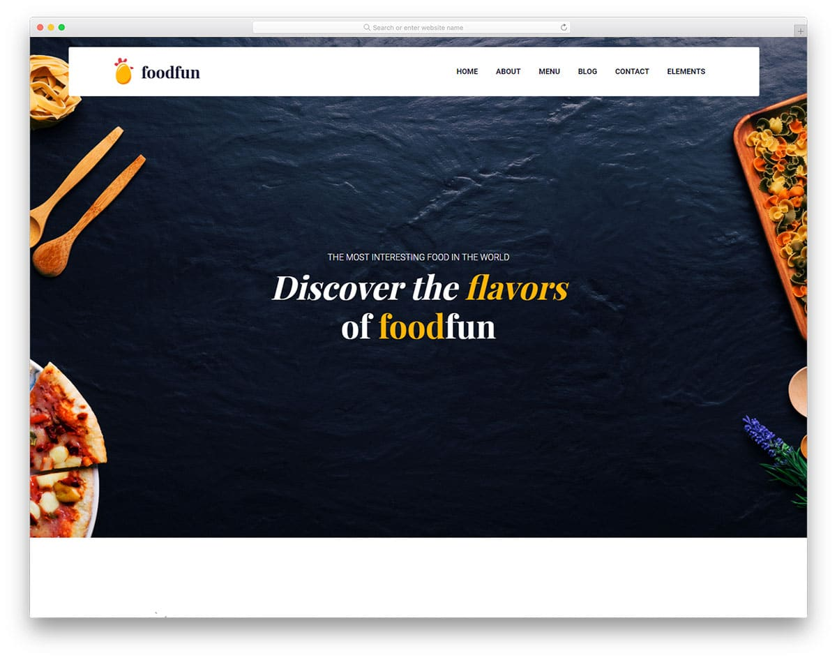 foodfun-free-responsive-html5-website-templates