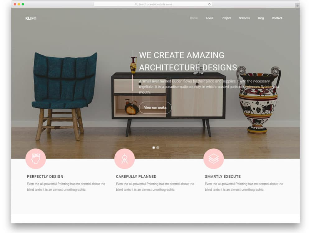 36 Free Interior Design Furniture Website Templates 2021 Uicookies