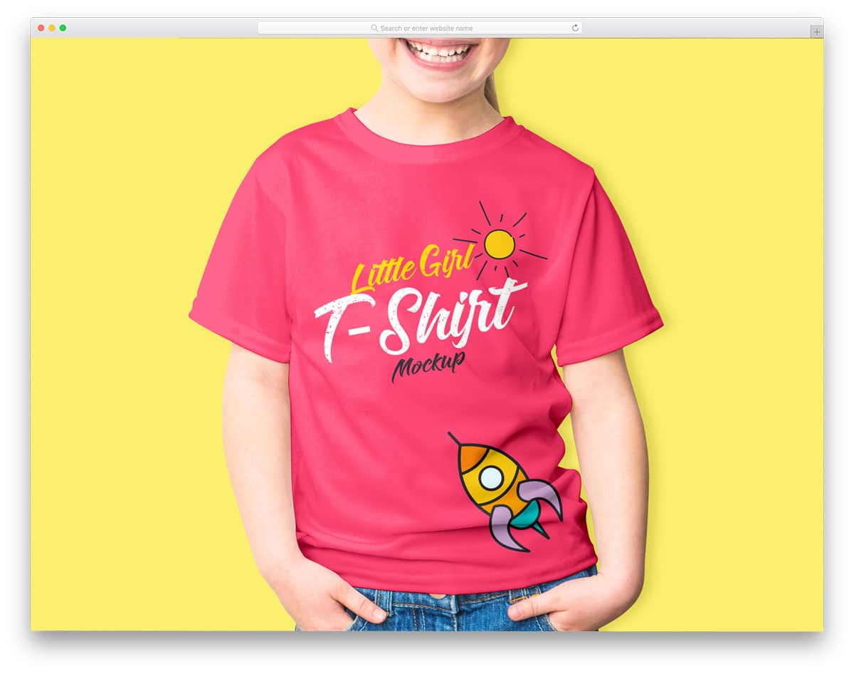 little-girl-t-dhirt-mockup