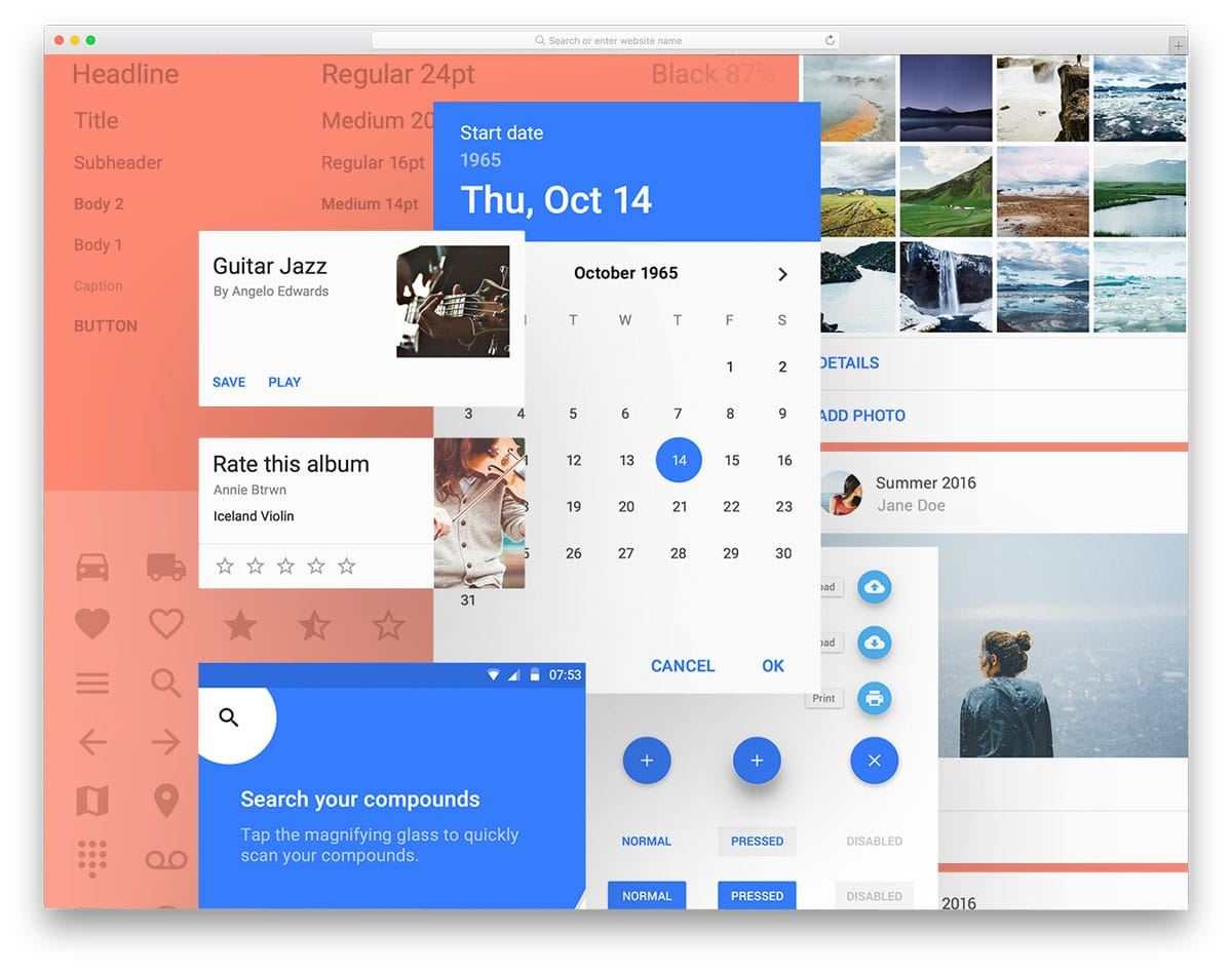 materialdesign-ui-kit-free-ui-kits