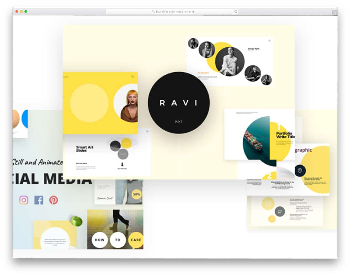 28 Free Keynote Templates With Interactive Design 2019