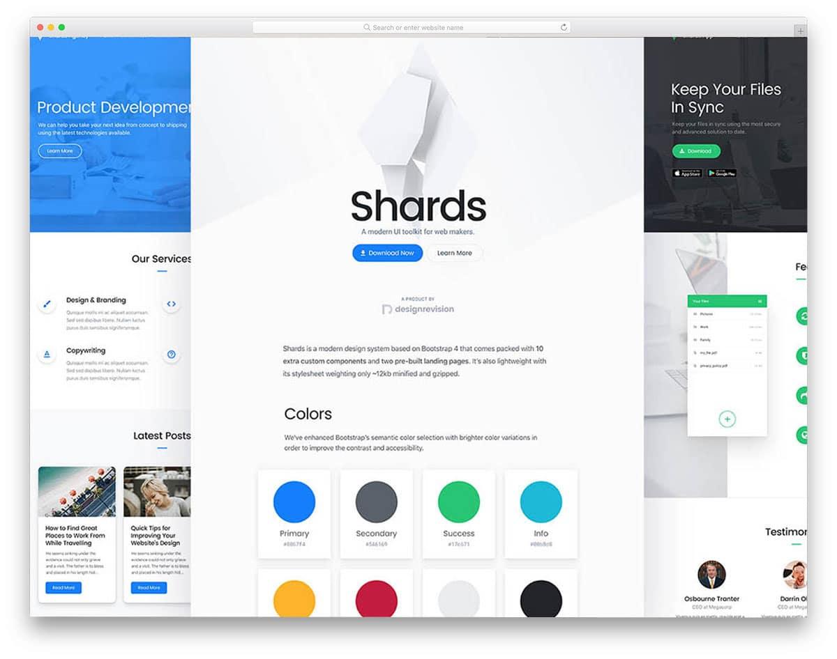 shards-free-ui-kit