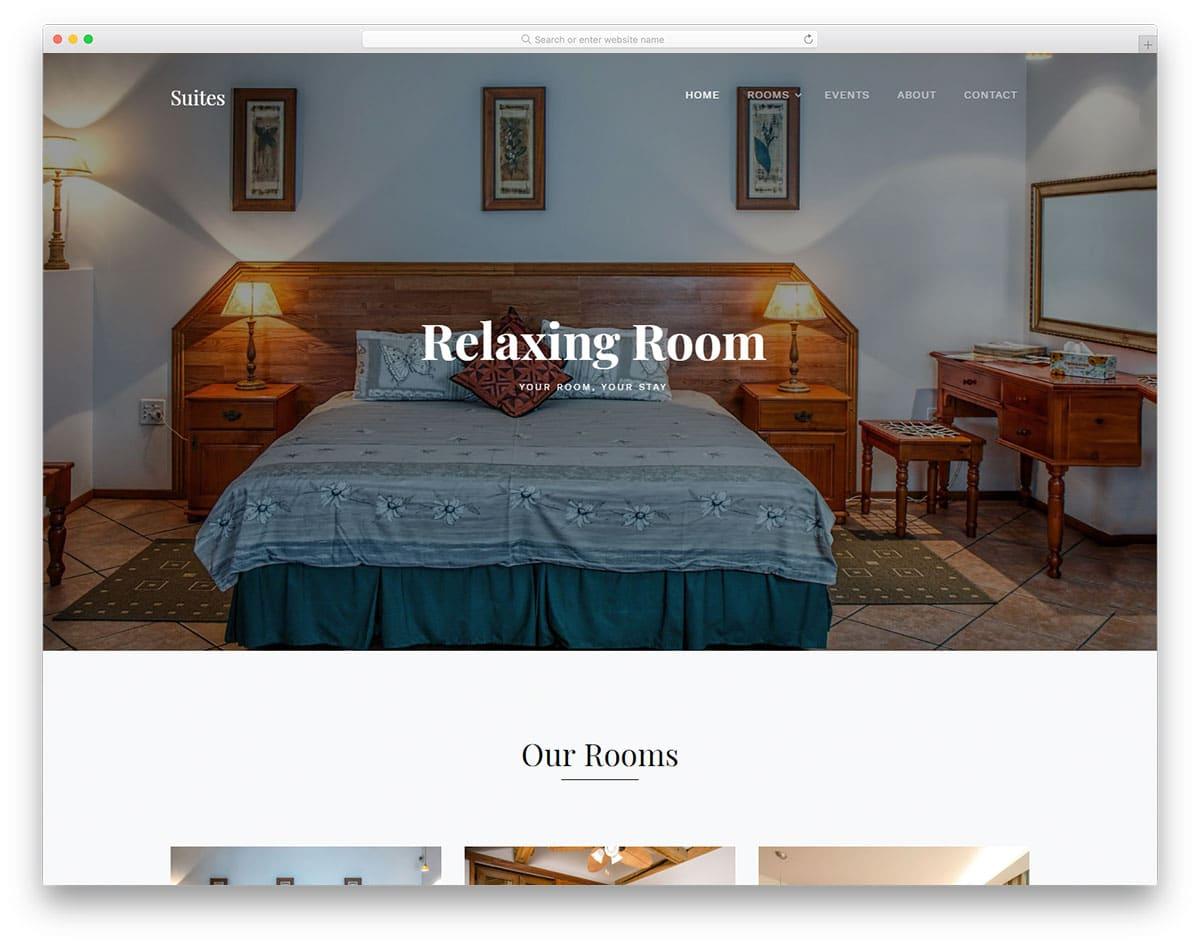 suites-free-clean-website-templates