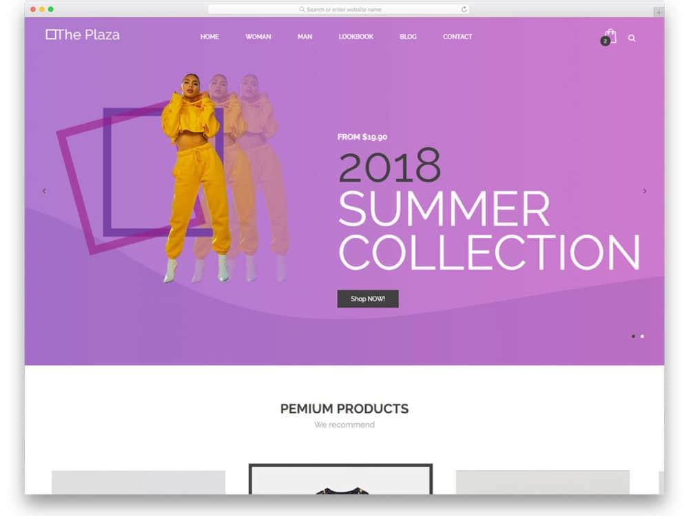 22 Best Free Responsive Ecommerce Website Templates 2019