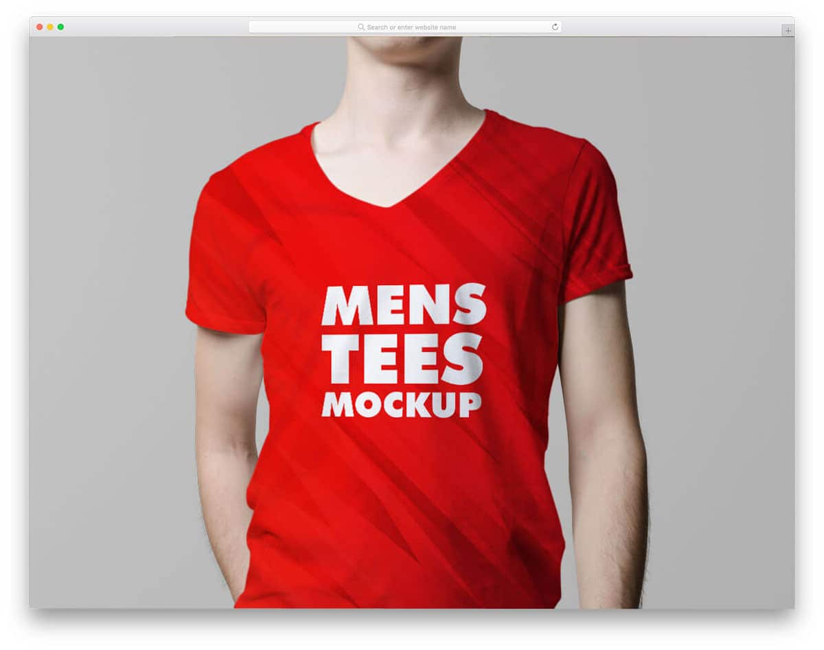 v-neck-male-t-Shirt