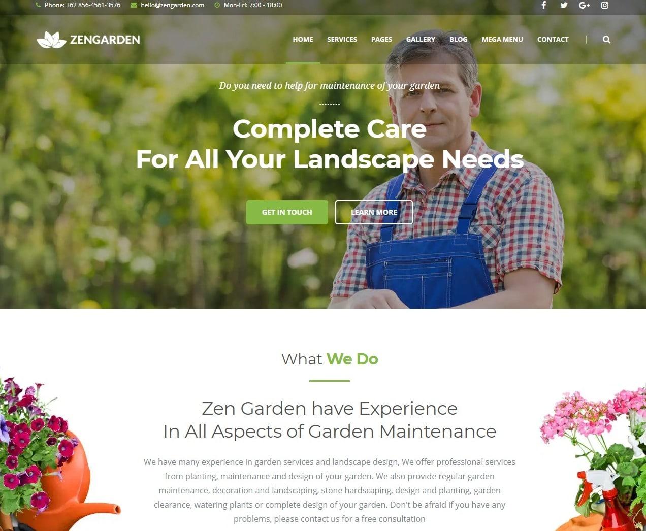 zengarden-agriculture-website-template