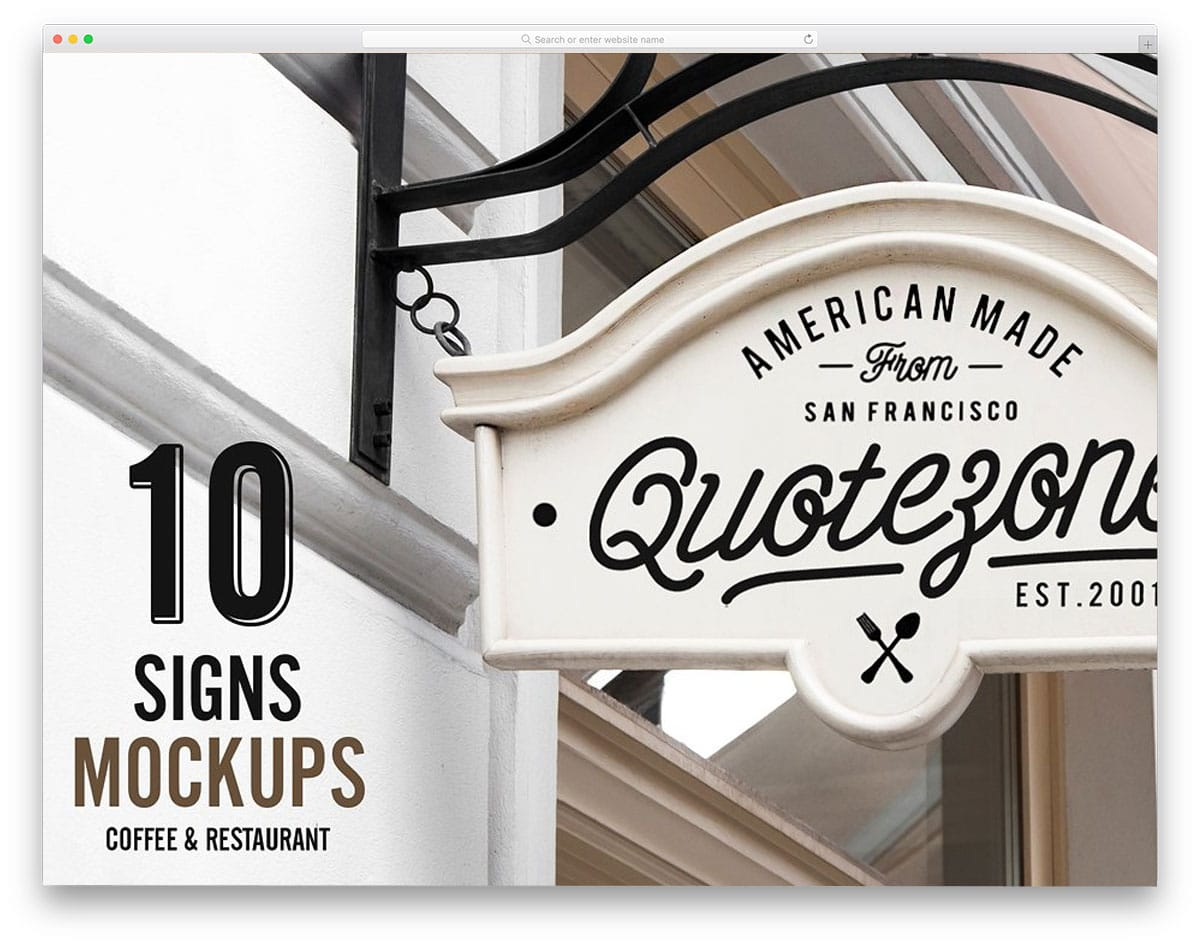 10-Signs-Mockup-Restaurant-and-Coffee-sign-mockups
