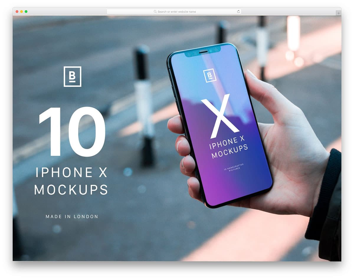10-iPhone-X-mockups