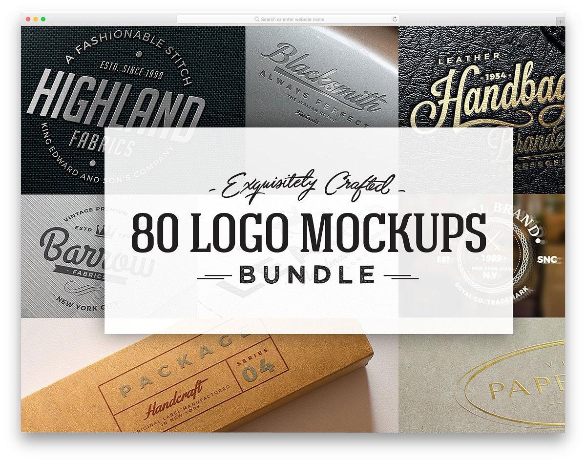 80-Logo-Mockups-Bundle