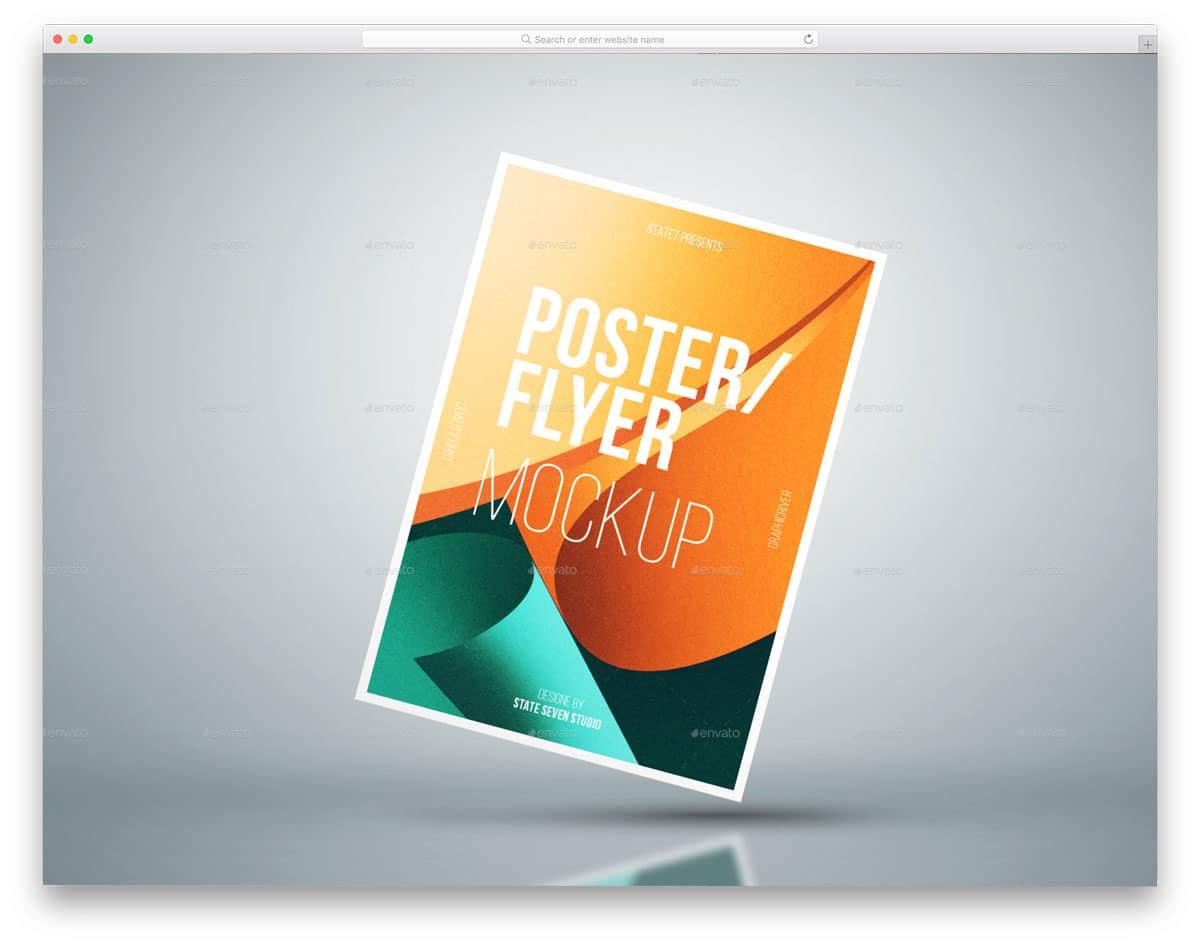 A4-Flyer-Poster-Mockup