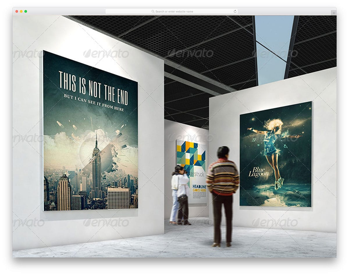 Gallery-Poster-Mockups