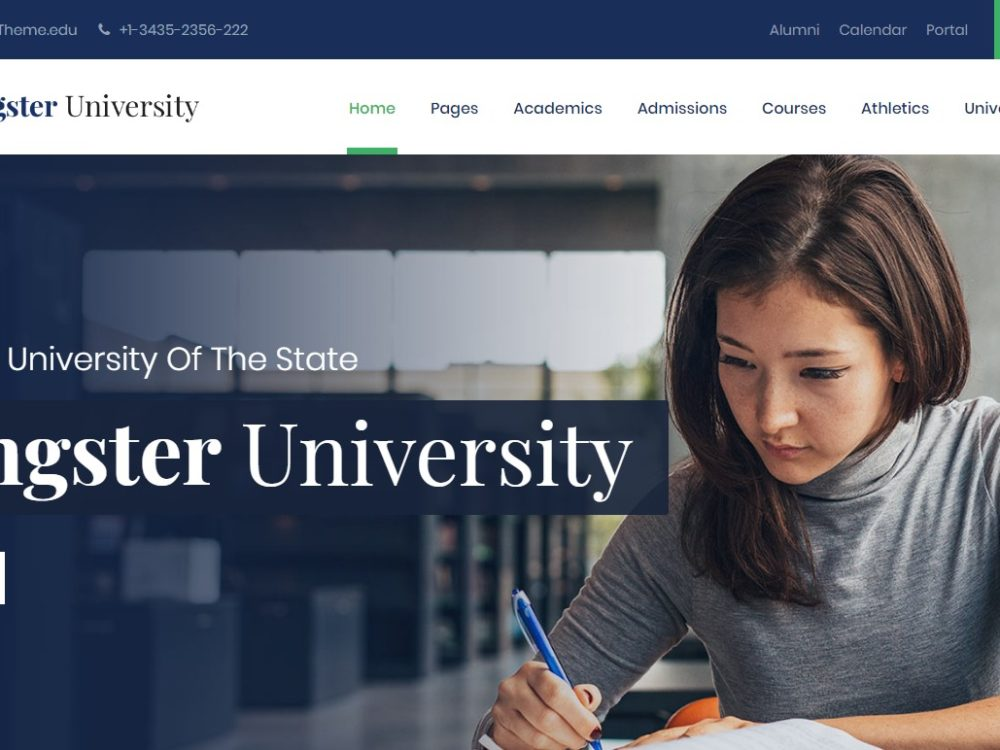 Kingster – School College University HTML Template