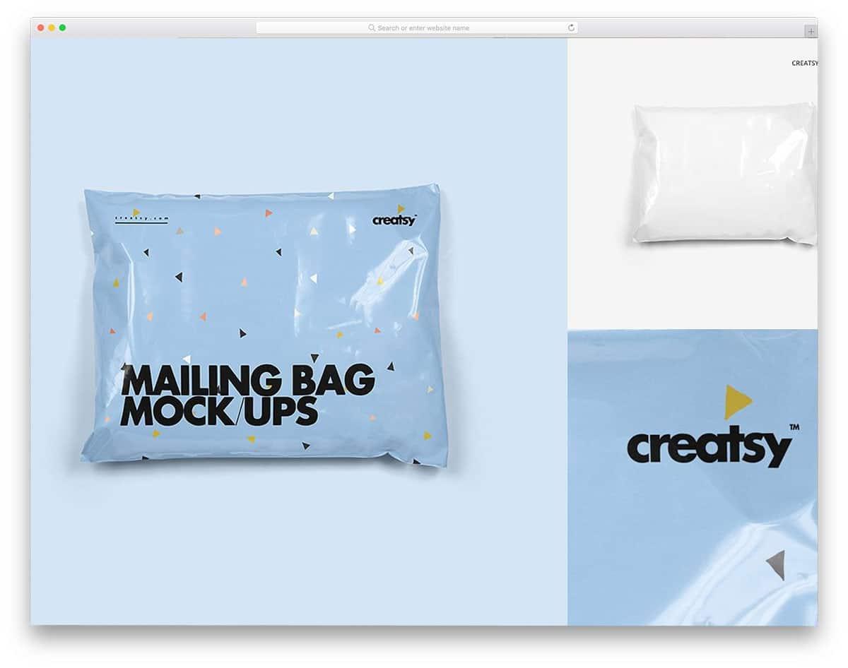 Mailing-Bag-Mockup-Set