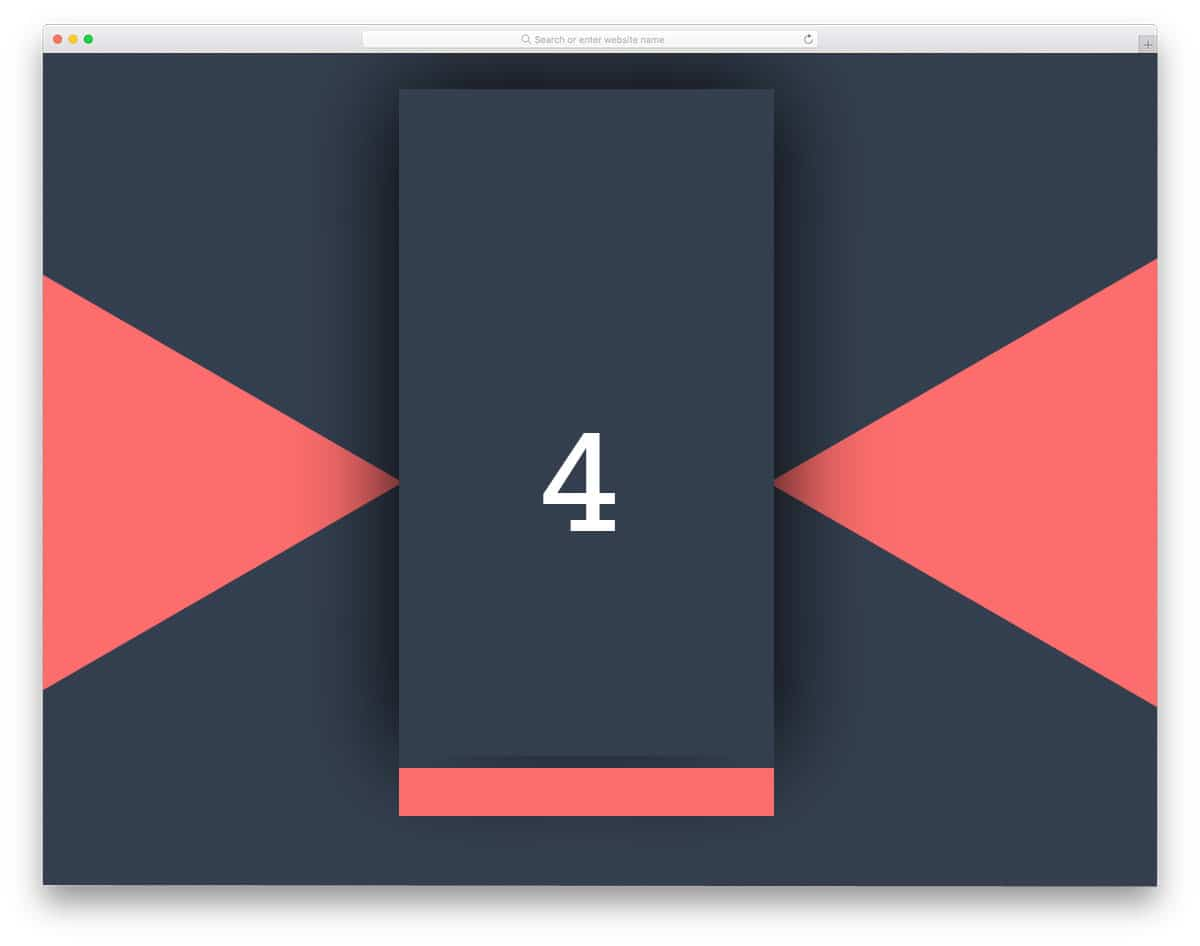 Material-Design-Count-Down-Timer