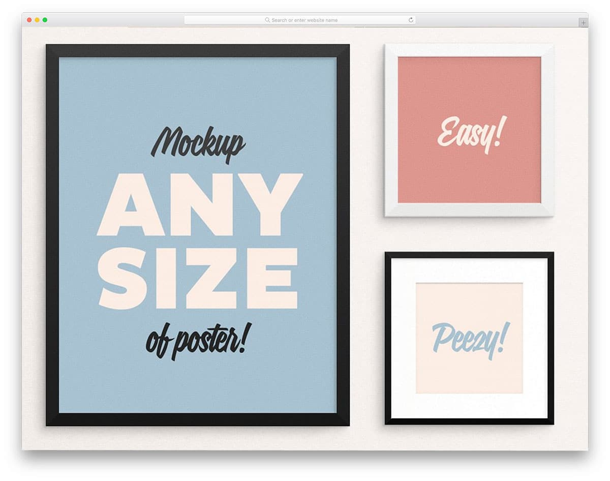 Poster-Frame-Mockup-fits-ALL-sizes