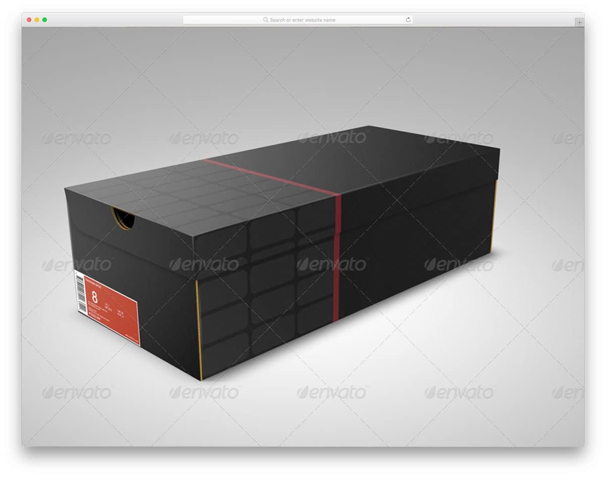 Shoe-Box-Mockup