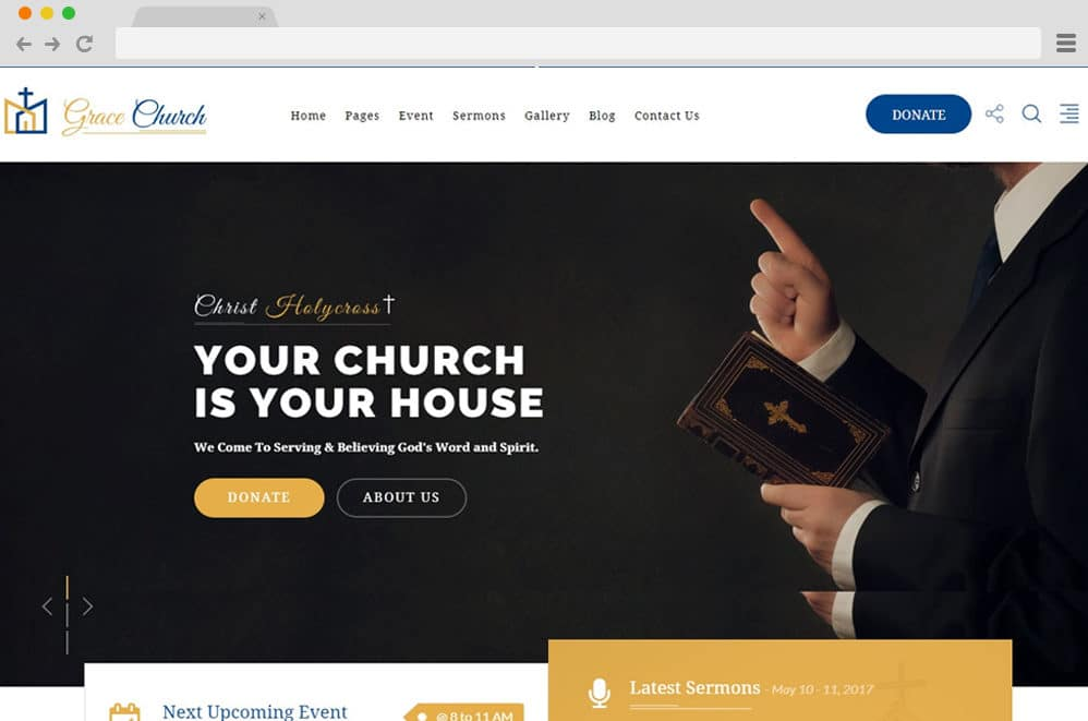 christian wedding order of service template.html