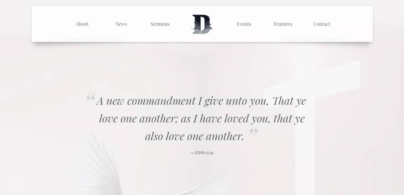 divinity church Charity HTML5 Template