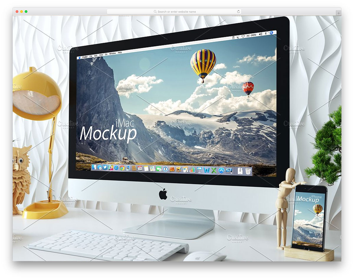 iMac-and-iPhone-mockup