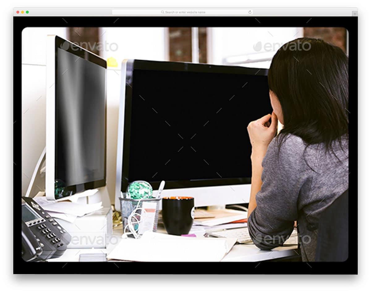 laptop--iMac-display-web-app-mockup