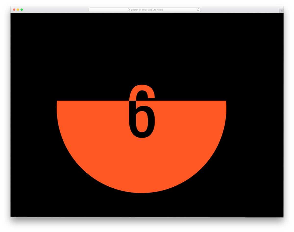 minimal-countdown-timer