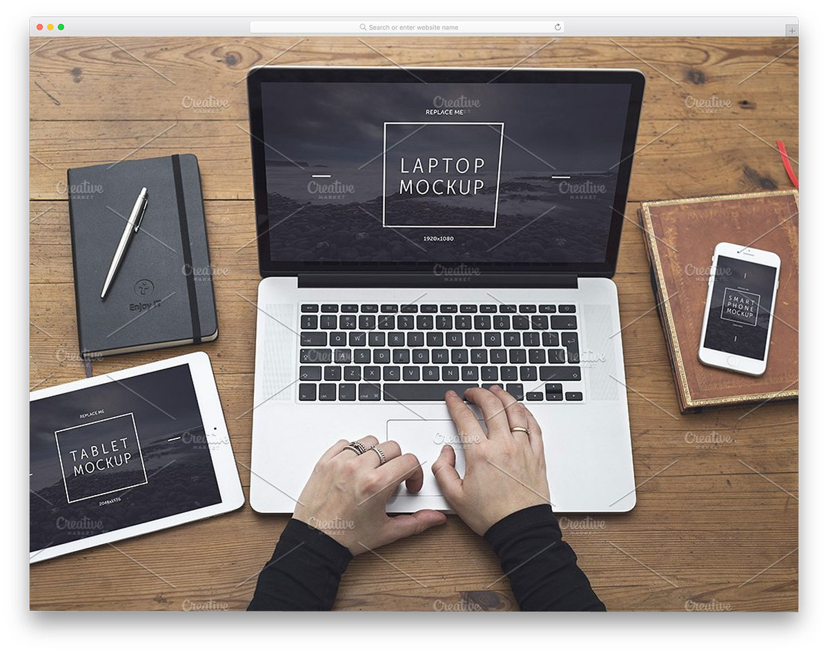 responsive-design-macbook-mockup