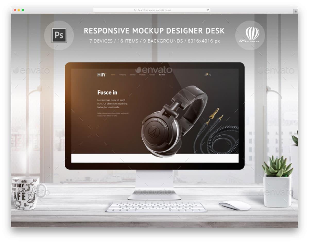 responsive-mockup-designer-desk