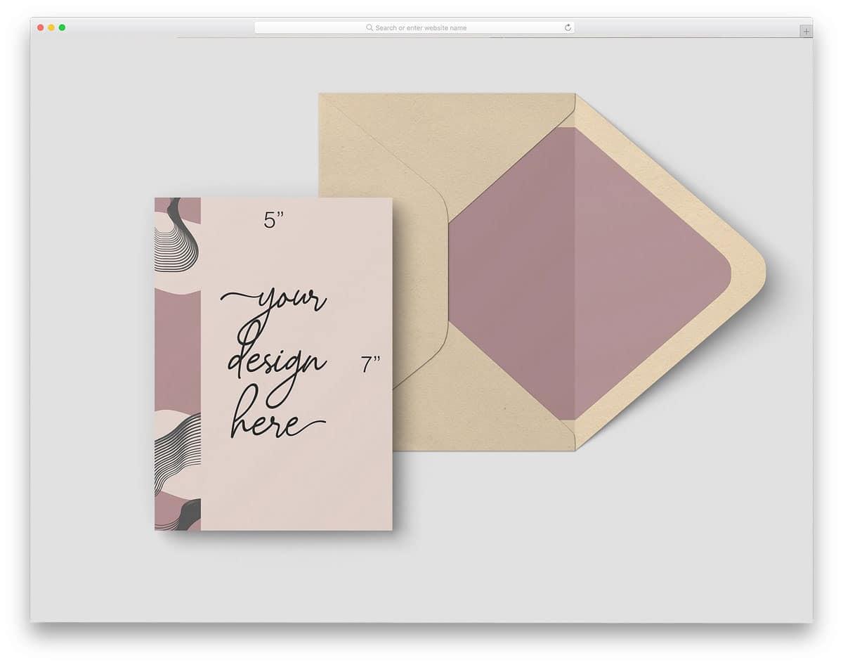 57-Postcard-Envelope-Mockup