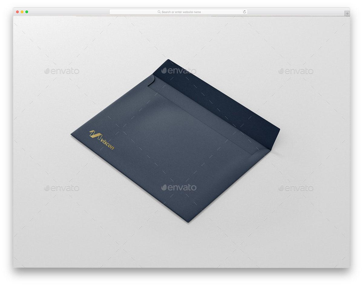 Envelope-C5-Mockup