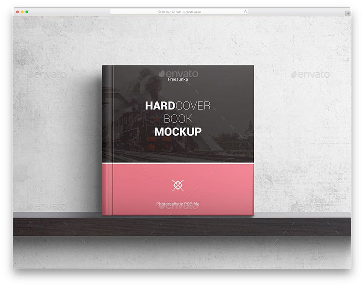 Hardcover-Square-Book-Mockups
