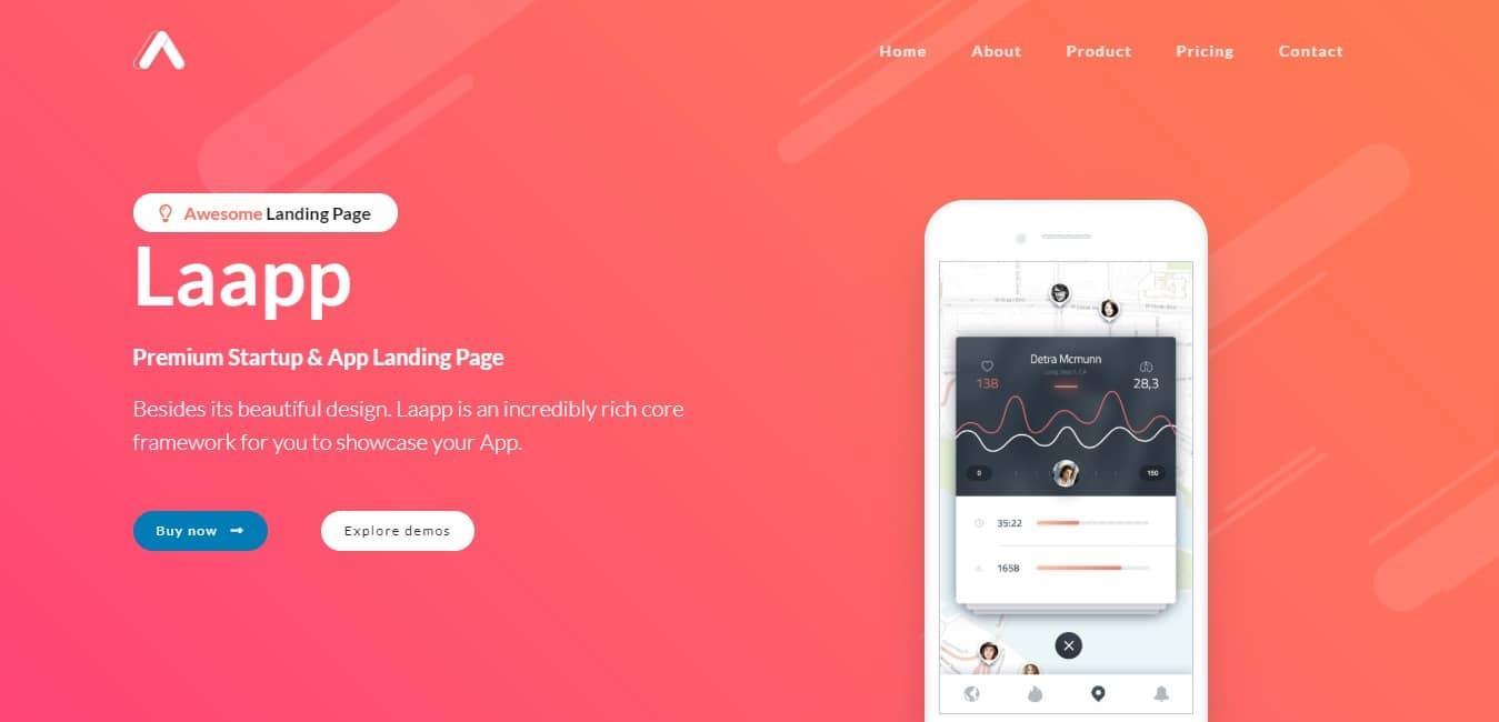 Laapp-App-Landing-Page-landingpage-design-wpbakery