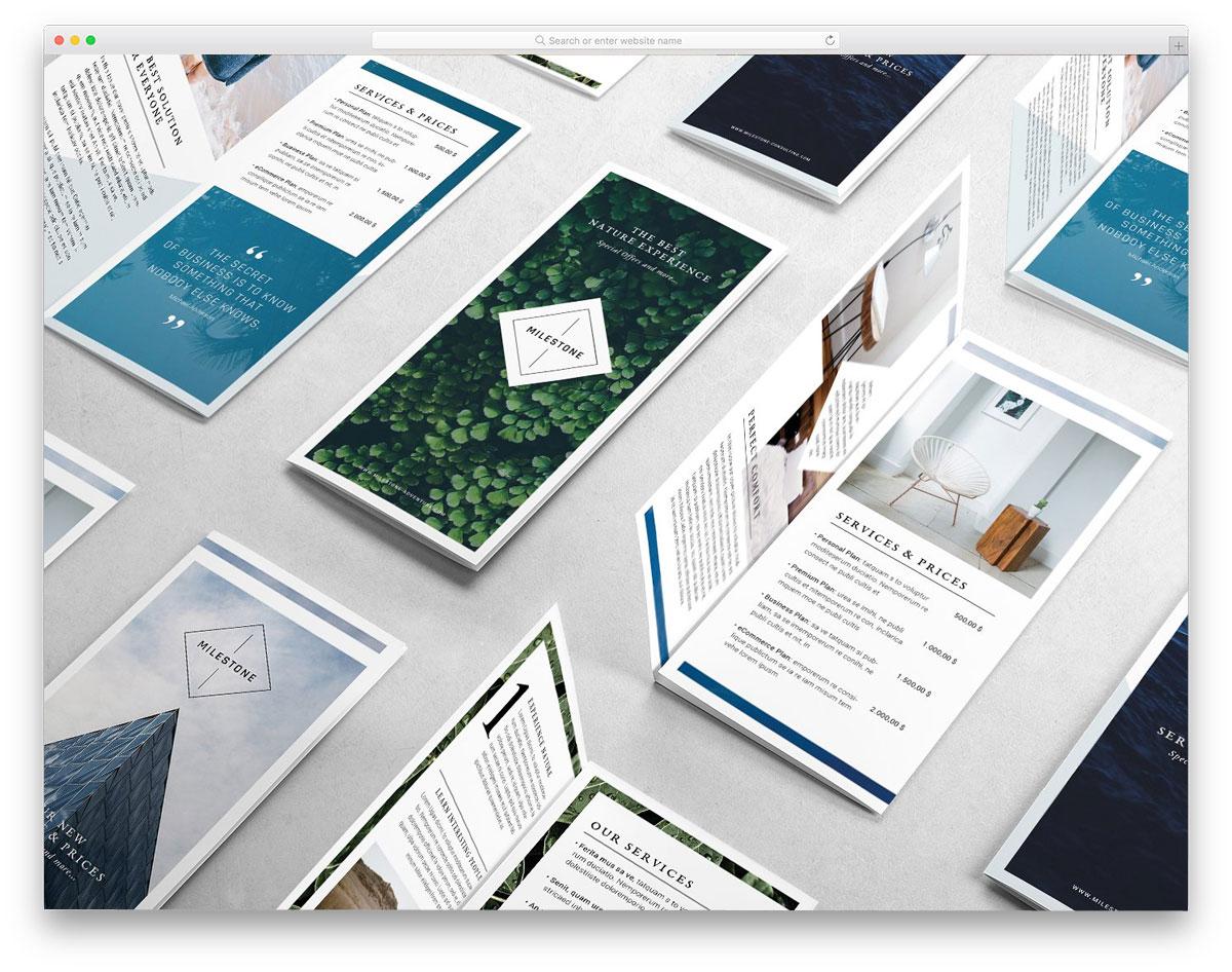 Milestone-Trifold-Brochure