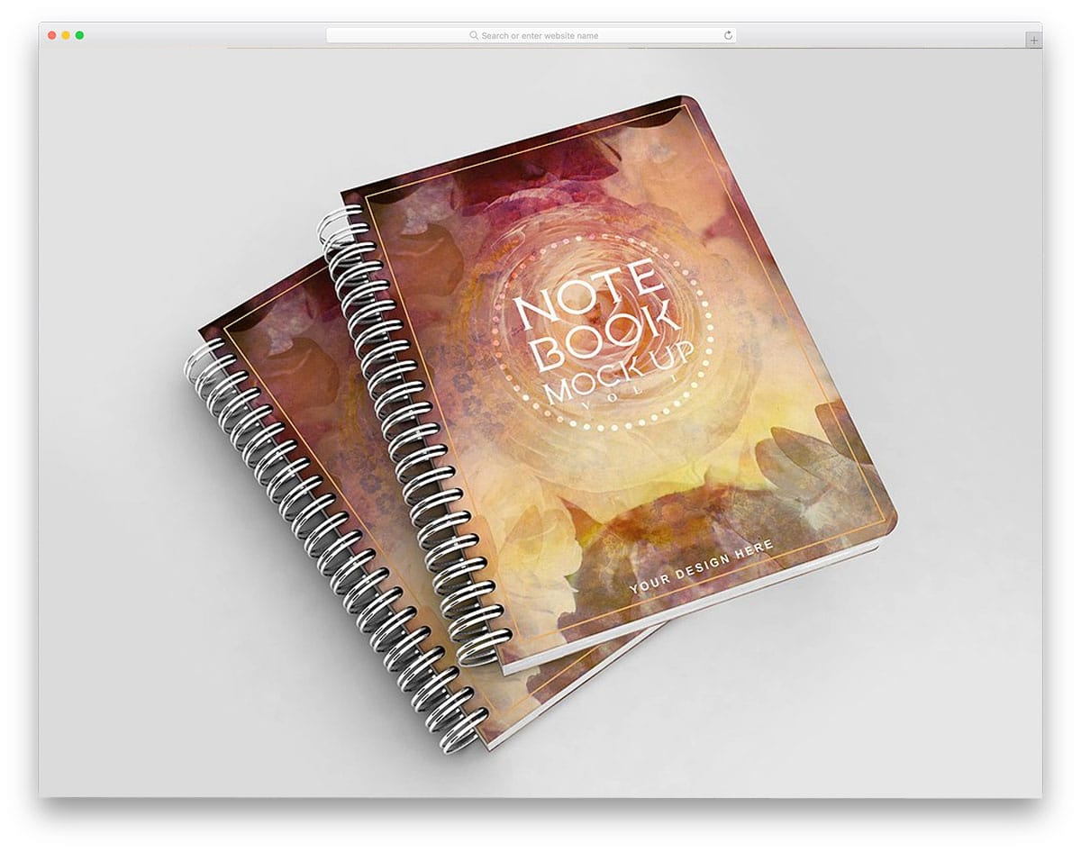 Notebook-Mockup-Vol-1