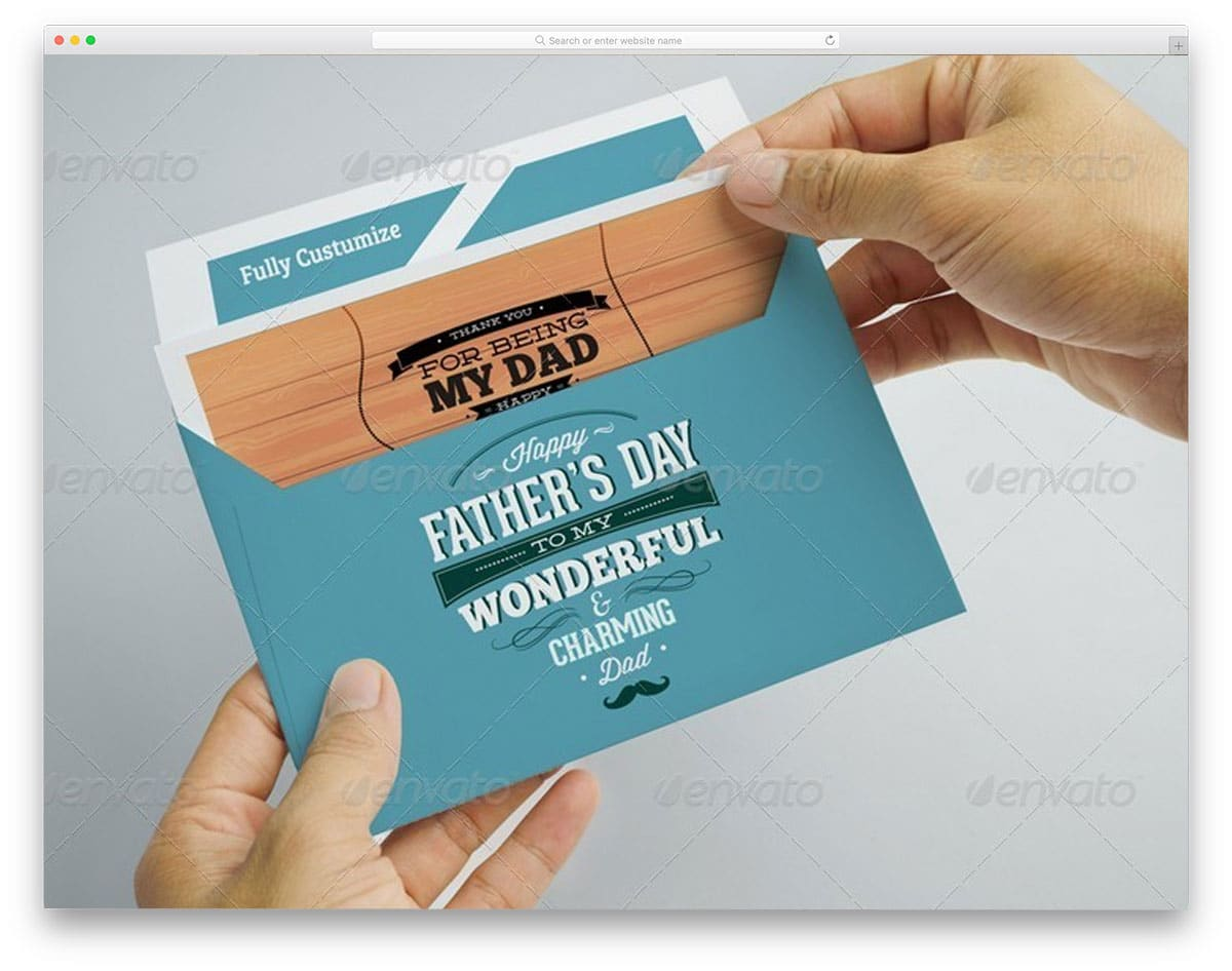 Postcard-With-Envelope-Mockups
