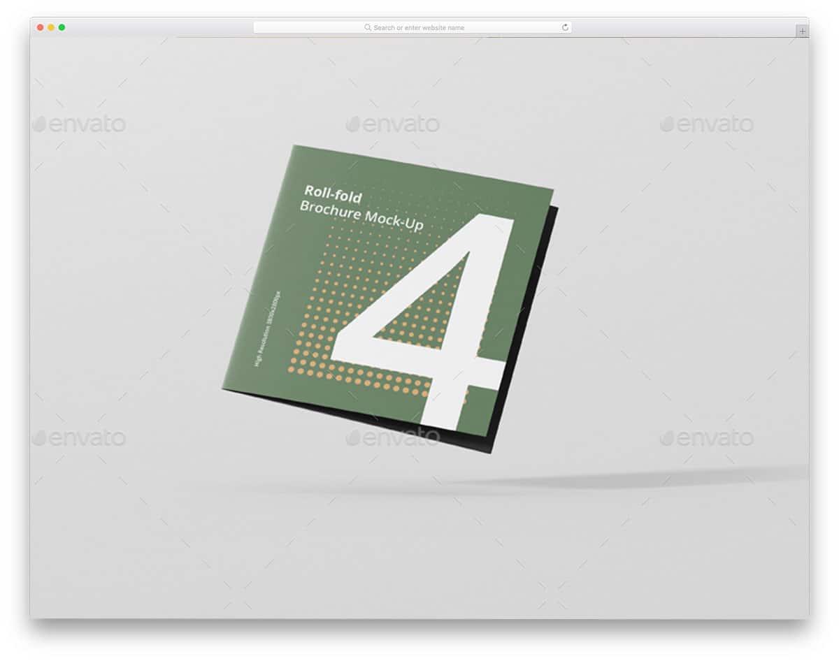 Roll-Fold-Brochure-Mockup-Square-Format