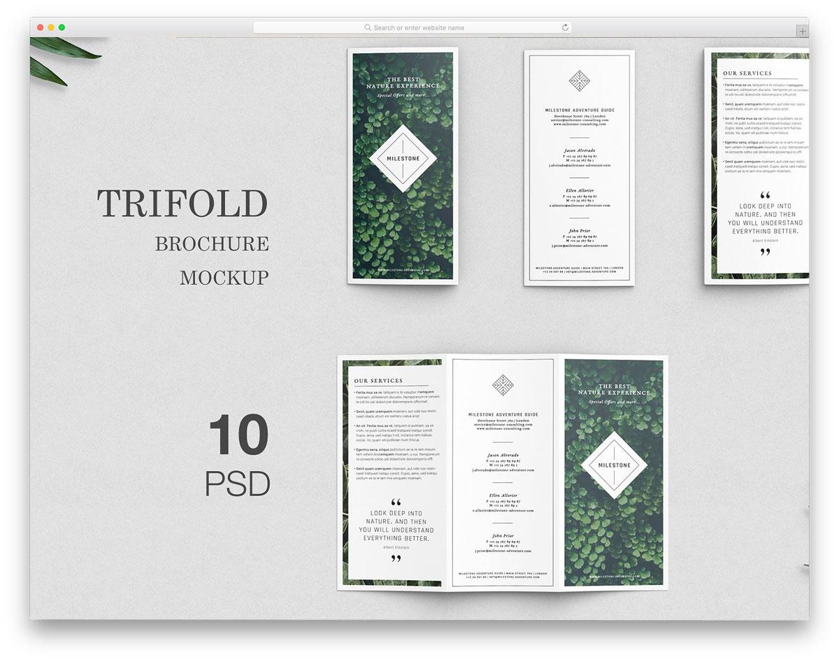 Trifold-Brochure-Mockups
