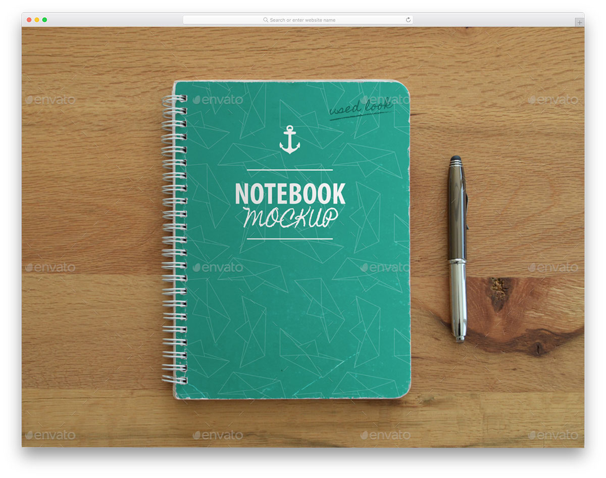 Used-Spiral-Notebook-Mockup