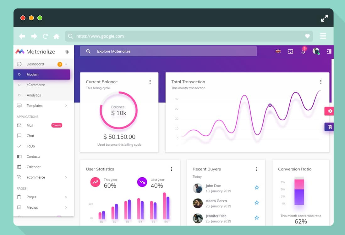 40 Best Responsive Premium Angular Admin Templates for 2019