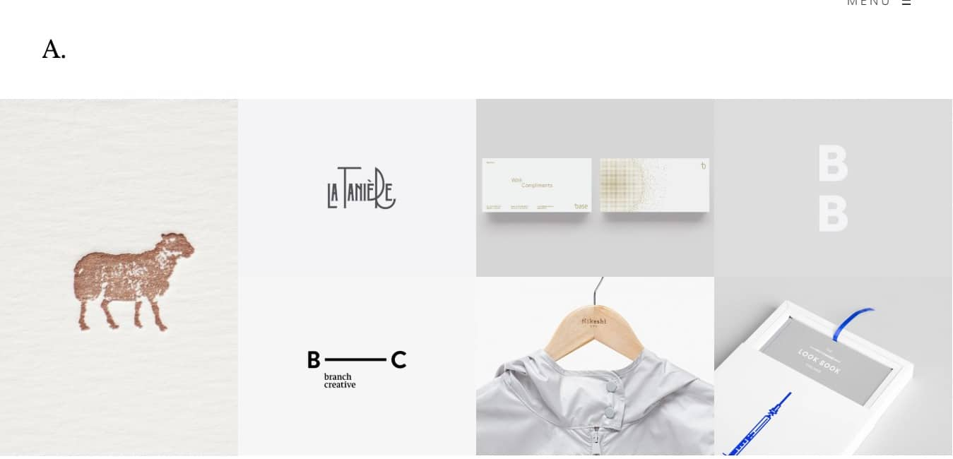 air fashion website template