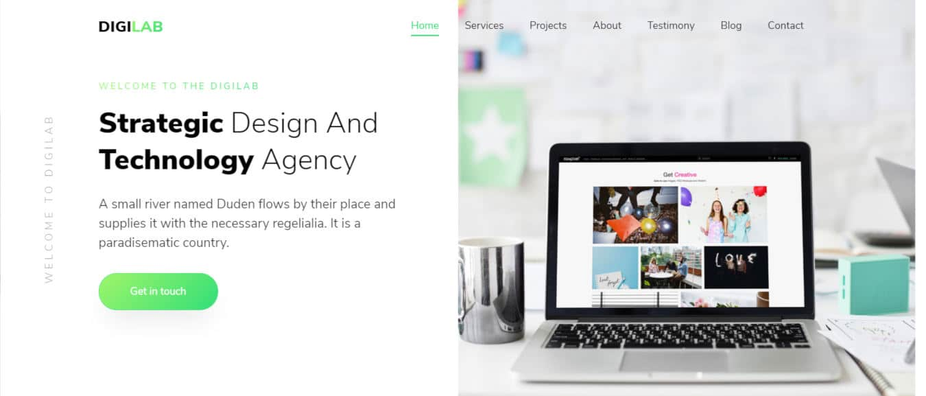 digilab mobile app templates