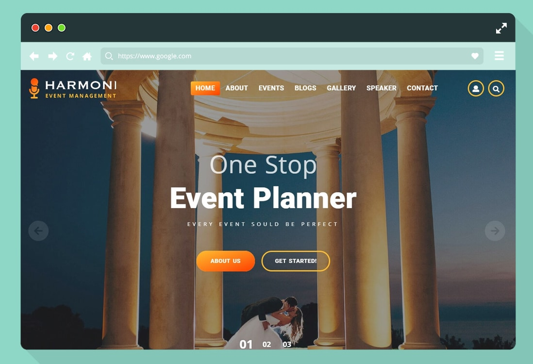 event-website-template