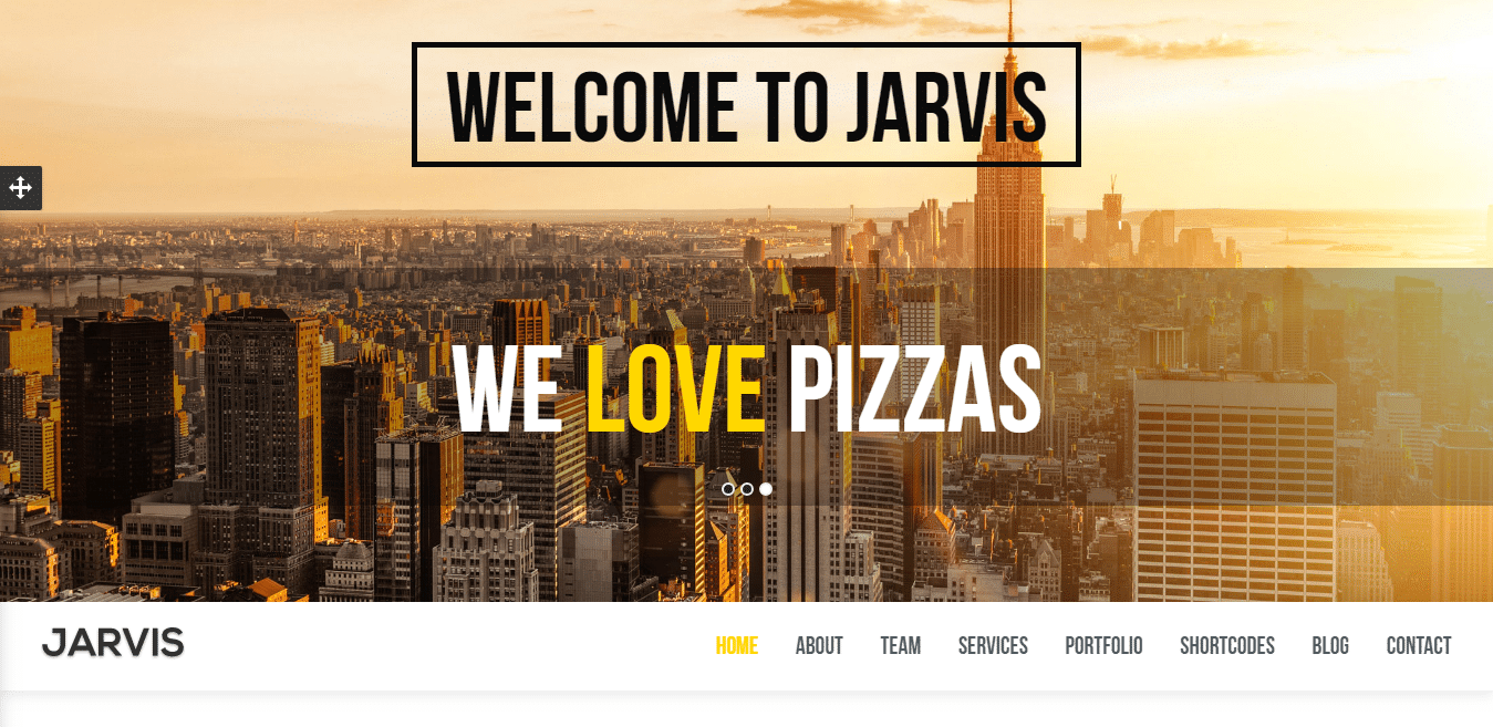 jarvis-business-website-template